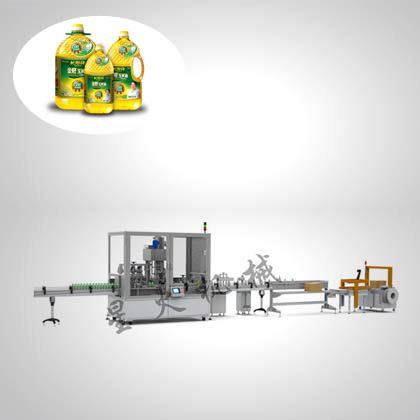 diaoweipin/小磨香油/食用油/橄lan油/酱油灌装生产线