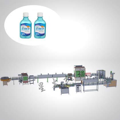 漱口ye/消毒ye/口服糖浆灌装生产xian